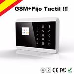 Alarma GSM+Fijo Tactil